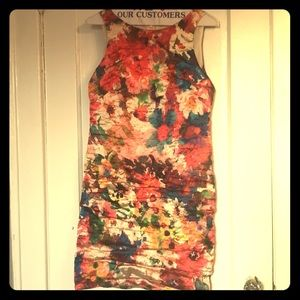 Like new Artelier Nicole Miller floral dress